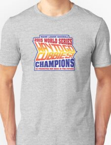Chicago Cubs World Series Champions - Back to the Future  T-Shirt