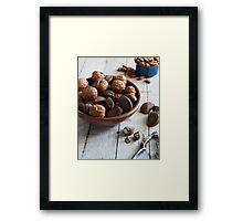 Nut Bowl Framed Print