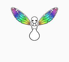 Rainbow bug angel shirt Womens Fitted T-Shirt