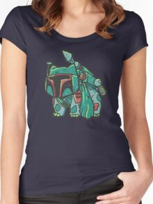 Bulba Fett Women's Fitted Scoop T-Shirt