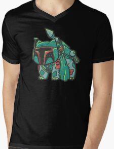 Bulba Fett Mens V-Neck T-Shirt