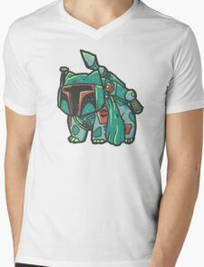 Bulba Fett Mens V-Neck T-Shirt