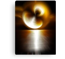 Sunstorm Canvas Print