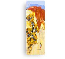 Red hill lovers Canvas Print
