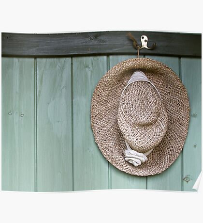 Summer Hat Poster