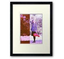 Have Ukulele, will Travel.. Framed Print