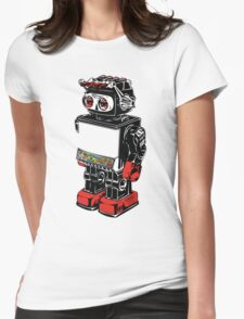old toy robot Womens Fitted T-Shirt