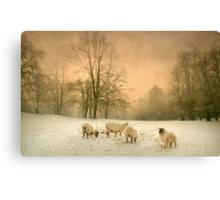 Winter's eve Canvas Print