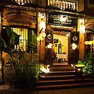 Hoi An Restaurant - Night by Stuart Row