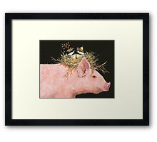 Livin' High on the Hog (with Livingston, Chuck and Dee) Framed Print
