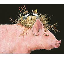 Livin' High on the Hog (with Livingston, Chuck and Dee) Photographic Print