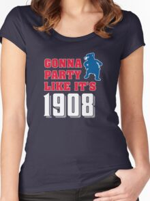 Chicago Cubs - Gonna Party like it's 1908 Women's Fitted Scoop T-Shirt