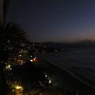Night in Puerto Vallarta, Los Muertos Beach and Amapas by PtoVallartaMex