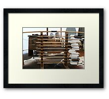 Nasty arrows Framed Print