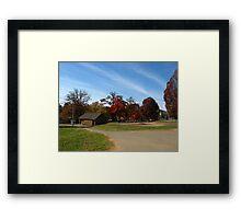 Fall Series 30 Framed Print