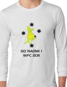 Yellow and Black WFC 2011 Long Sleeve T-Shirt