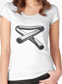 CHIMES MUSIC BAND - ALBUM LOGO BRAND Women's Fitted Scoop T-Shirt