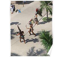 Dancers at the Malecón/Olas Altas/Puerto Vallarta Poster