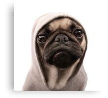 COOL PUG DOG - HIP HOP STYLE Canvas Print
