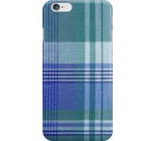 Blue Plaid iPhone Case iPhone Case/Skin