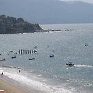 Noon at the beach of Puerto Vallarta by PtoVallartaMex