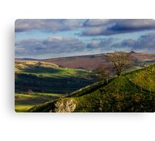 A Distant Win Hill Canvas Print