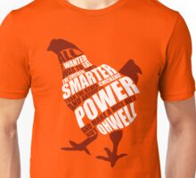 The power of the chicken Unisex T-Shirt