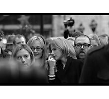 Face in the Crowd Photographic Print