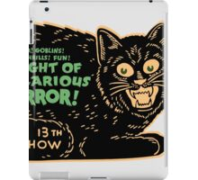 Vintage Halloween Black Cat iPad Case/Skin