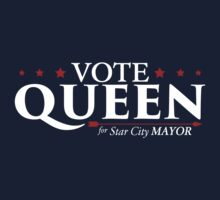 Queen for Mayor Baby Tee