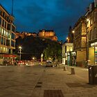 Edinburgh Castle Street  by Rob Hawkins