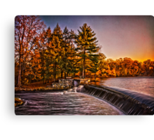 River Falls Canvas Print