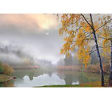 Fog in November Photographic Print