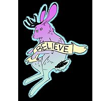 Believe in the Jackalope Photographic Print