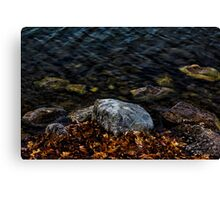 Under These Rocks and Stones Canvas Print