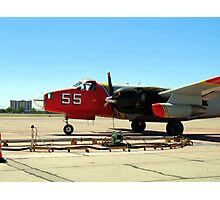 Air Tanker 55 Loading Photographic Print