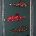 "Windows are Fish to the Sole 3 of 13 by Fred Weiler. 23"" x 32"" $300.00 for original by Fred Weiler"