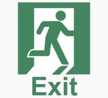 Exit sign Kids Clothes