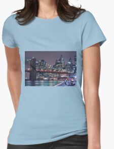Lower East Side, Manhattan Womens Fitted T-Shirt