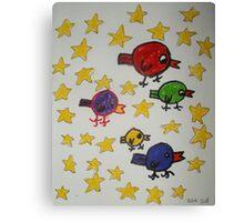 J Birds... Canvas Print