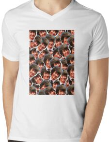 Happy Alex Turner Mens V-Neck T-Shirt