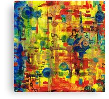 Electronic chachacha Canvas Print