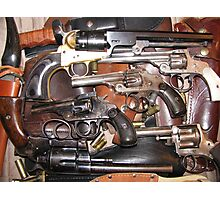 Antique Guns Collection photography Photographic Print