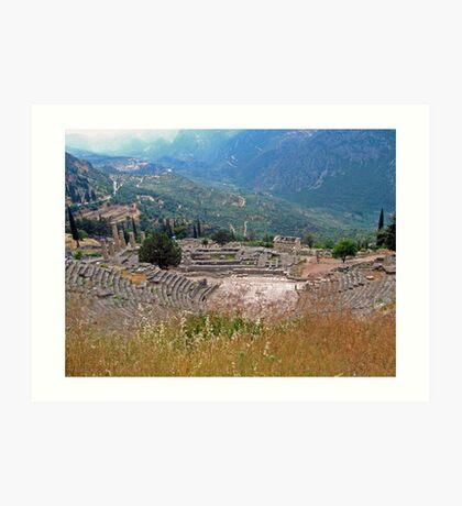 Delphi Art Print