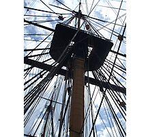 Tall Ship Mast Photographic Print
