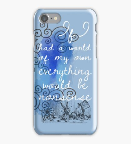 Alice in Wonderland iPhone Case iPhone Case/Skin