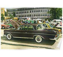 Mercedes 250 SEB Poster