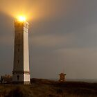Blaavandshuk Lighthouse by Steen Nielsen