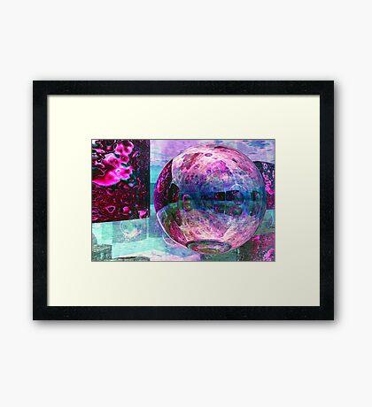 Installation Framed Print