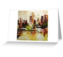 Central Point of View Greeting Card